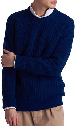 Barbour White Label Tynedale Chunky-Knit Wool Sweater