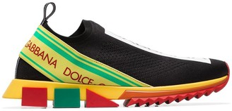 Dolce & Gabbana Sorrento logo-woven sneakers
