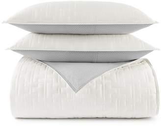 Tommy Hilfiger Quilted Monogram Comforter Set, King