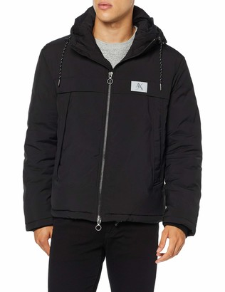 Armani Exchange Men's Reflective Logo Jacket