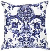Roberto Cavalli Azuleyos Decorative Cotton Pillow