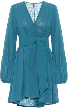 Kalita Exclusive to Mytheresa Gaia cotton mini wrap dress