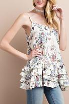 Easel Flowy Floral Top