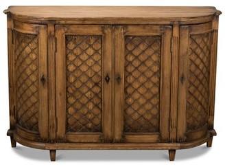 "Sarreid Ltd. 59"" Wide Pine Wood Sideboard"