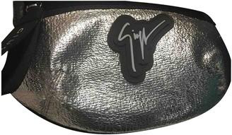 Giuseppe Zanotti Silver Leather Bags