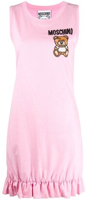 Moschino Teddy Bear embellished dress
