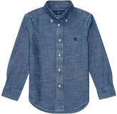 Ralph Lauren Indigo Cotton Chambray Shirt