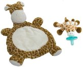 Mary Meyer Bestever Baby Mat with WubbaNub Infant Pacifier, Giraffe by