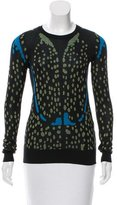 Proenza Schouler Patterned Crew Neck Sweater