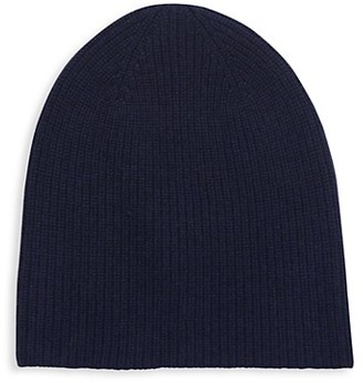 Saks Fifth Avenue Ribbed Cashmere Beanie
