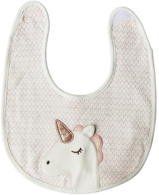 Urban Products Unicorn Bib with Pink Scale Pattern 24cm
