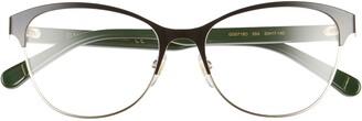 Gucci 53mm Cat Eye Optical Glasses