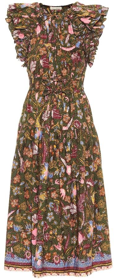 Ulla Johnson Irina floral cotton midi dress
