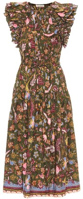 Ulla Johnson Irina floral cotton midi dress