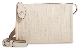 Longchamp La Voyageuse Leather Crossbody Bag