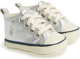 Ralph Lauren 'Sag Harbour' Crib Shoe (Baby)