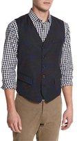Robert Graham Gilbey Woven Printed Vest, Multi