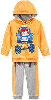 Nannette Baby Boys' 2-Pc. Truck Hoodie & Pants Set