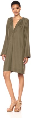 BCBGMAXAZRIA Azria Women's Roxanne Long Sleeved Woven Dress