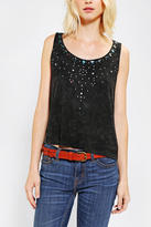 Urban Outfitters Staring At Stars Stardust Embellished Tank Top