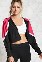 Forever 21 Active Geo Cropped Jacket