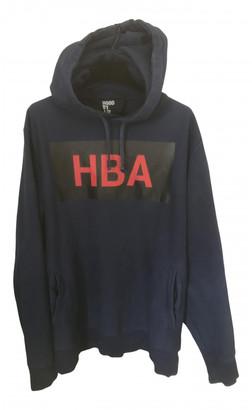 Hood by Air Blue Cotton Knitwear & Sweatshirts