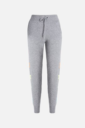 Bandier X Brodie Cashmere 100% Cashmere Side Star Jogger in
