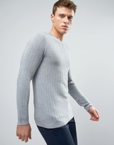 Selected Homme Ribbed Knit Jumper