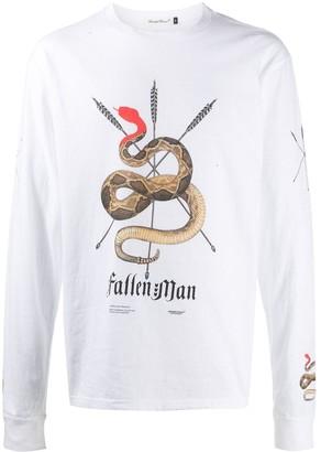 Undercover logo-print long-sleeve T-shirt