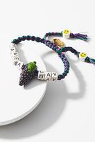 Venessa Arizaga Beaded Phrases Bracelet