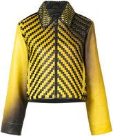 Martina Spetlova air-brushed jacket - women - Lamb Skin - 8