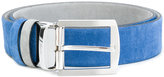 Kiton two-tone belt - men - Suede - 85