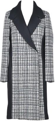 Patrizia Pepe Women's Black / Beige Coat