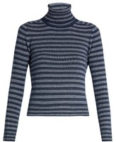 Sonia Rykiel Striped cashmere roll-neck sweater