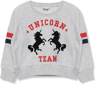 M&Co Unicorn sweatshirt (3-12yrs)