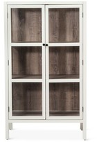 Threshold Vista Library Cabinet with Glass