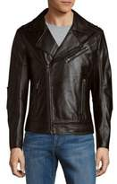Rogue Asymmetric Leather Moto Jacket