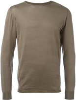 Roberto Collina crew neck jumper - men - Cotton - 46