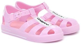 Dolce & Gabbana Kids Caged sandals