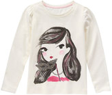 Gymboree White Masquerade Top - Girls