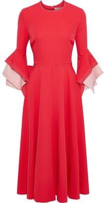 Roksanda Ricciarini Two-tone Crepe Dress