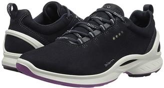 Ecco Sport Biom Fjuel (Navy Yak Nubuck) Women's Lace up casual Shoes