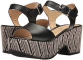 Cordani Black Janus Leather Sandal