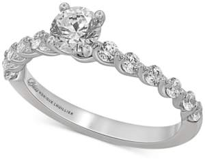 Monique Lhuillier Bliss Bliss Monique Luhillier Diamond Engagement Ring (1 ct. t.w.) in 14k White Gold