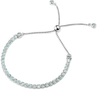 Tsai X Tsai Tamsui Blue Topaz Bracelet, Sterling Silver
