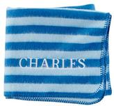 Pitter Pattern Blanket (Blue Stripe)