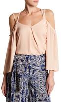 June & Hudson Strappy Cold Shoulder Shirt
