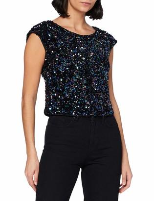 APART Fashion Women's Sequins Top Blouse