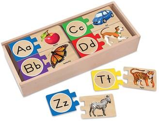 Melissa & Doug Letter Puzzles Set