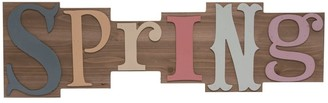 Transpac 32 in. Multicolor Easter Bright Word Block Wall Sign